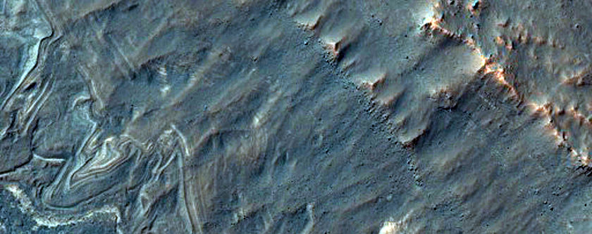 Layered Floor of Noctis Labyrinthus
