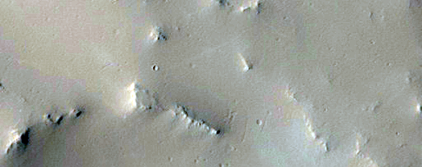 Branched Valleys in Arabia Region