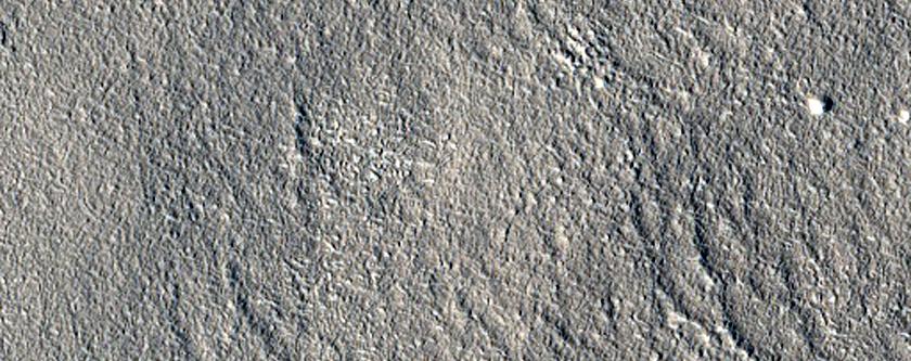Arcadia Planitia Erosion