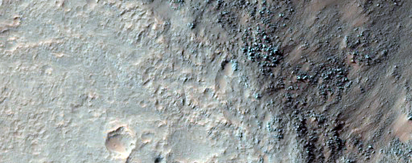 Chaos and Outflow Channel Floor Transition in Osuga Valles