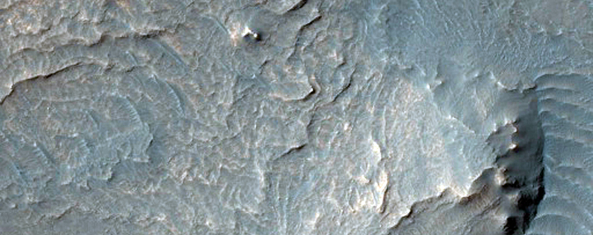 Survey Layering and Faulting in Melas Chasma Layered Deposits