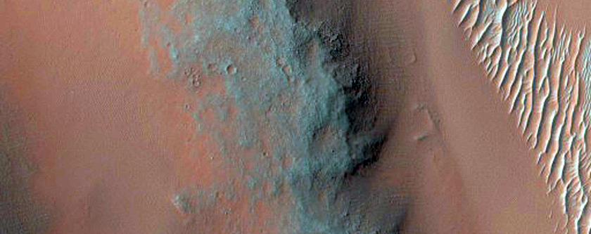Arcuate Fractures on Floor of Nili Patera