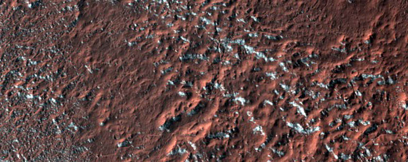 Terrain Near Tivat Crater
