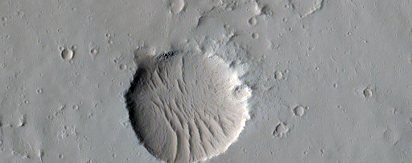 Pit Craters North of Ascraeus Mons