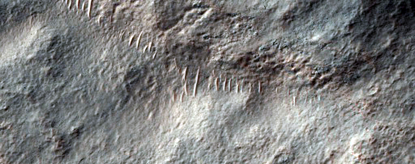 Small Channel in Promethei Terra