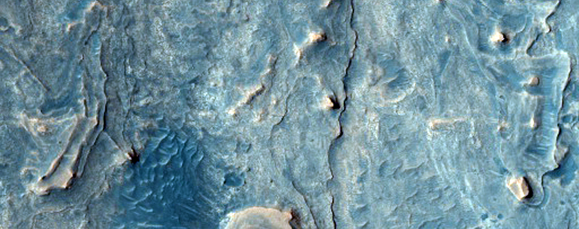 Layers in Northern Meridiani Planum