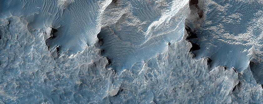 Layers in Northeast Sinus Meridiani