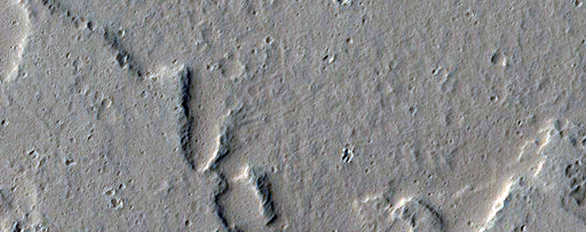 Southern Margin of Ascraeus Mons