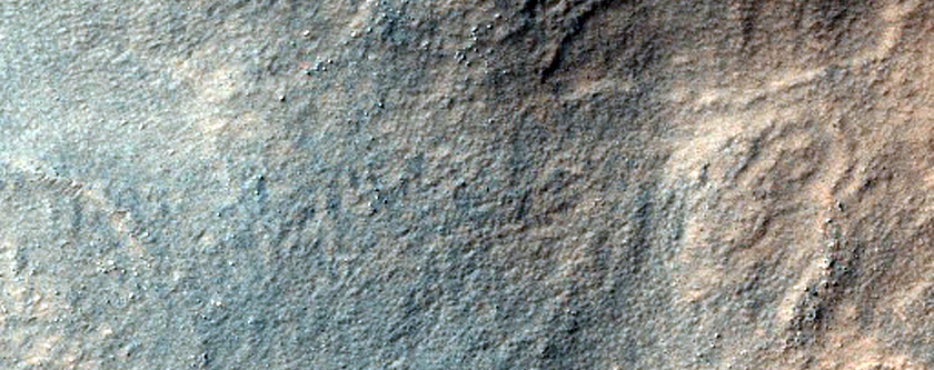 Sample of Pitted or Scalloped Terrain in Hellas Planitia