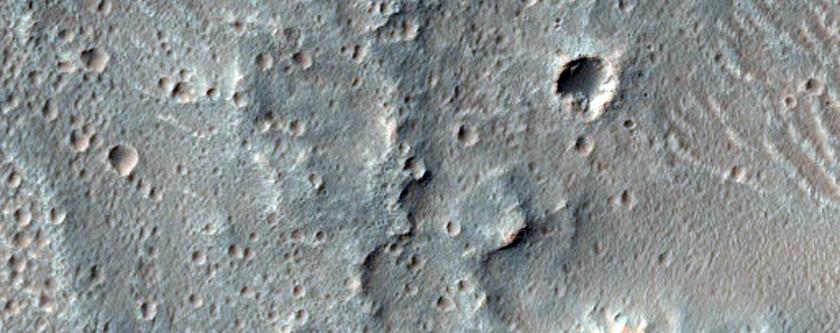 Inverted Terrain in the Parana Valles Region