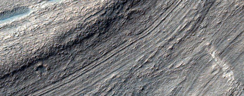 Soft-Sediment Deformation in Hellas Planitia