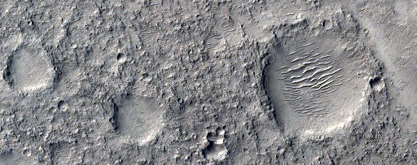 Terrain in  Arabia Terra