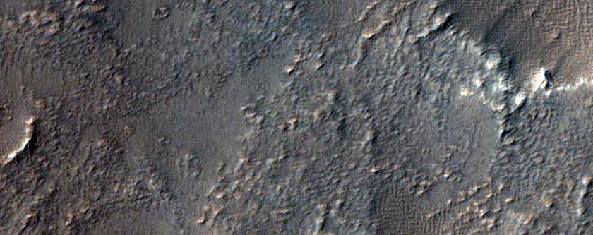 Pit on the Northeast Flank of Arsia Mons
