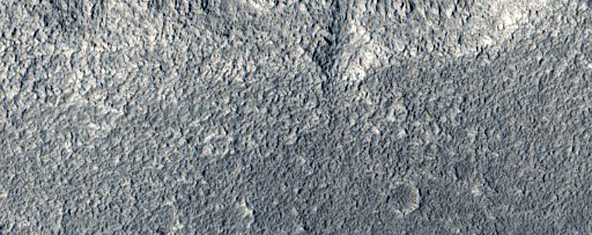 Beginning of Tributary in Mamers Valles