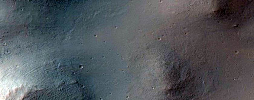 Impact Crater in Sinai Dorsa