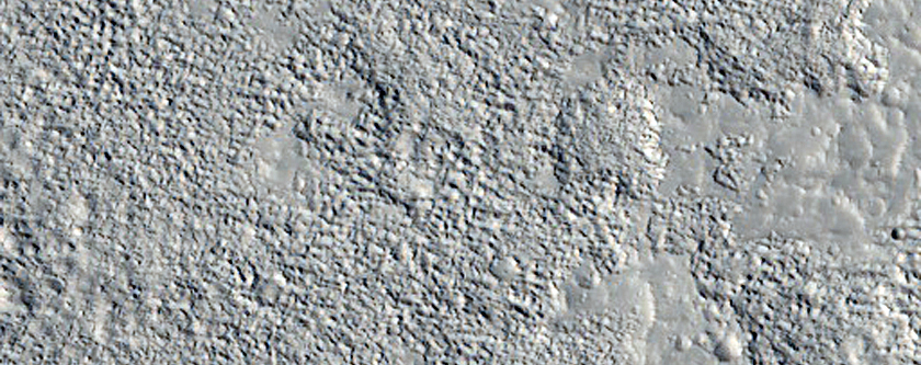 Flow Lobes on the Northwest Flank of Alba Mons