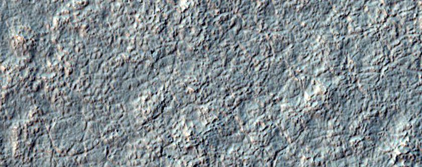 Layered Mantle in Noachis Terra