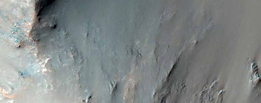 Central Peak of an Impact Crater
