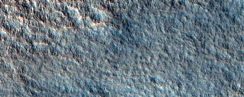 Impact Crater on Northern Plains