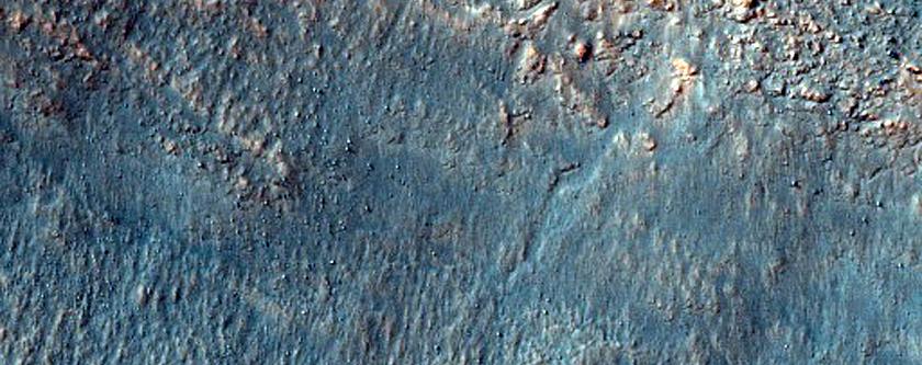 Degraded Surface in Noachis Region