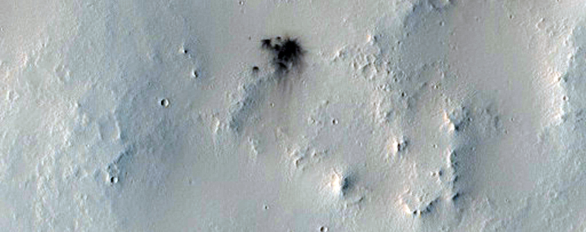 Young Impact Crater
