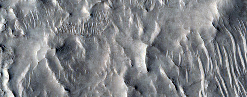 Possible Inverted Streams in Nilosyrtis Mensae