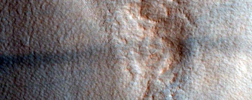 Secondary Craters of Lyot Crater