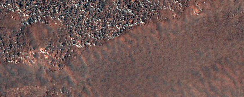 Possible Former River in Argyre Planitia