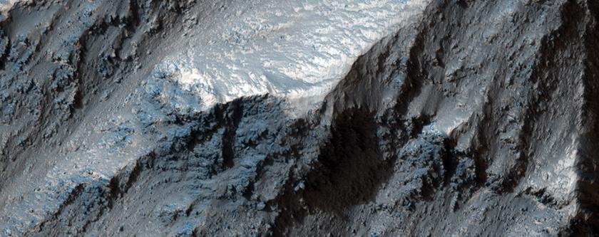 Valles Marineris Wall Rock