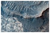Ridges in Meridiani Planum