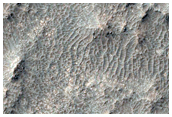 Tyrrhena Terra Intercrater Plains