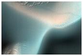Monitoring Dust Devil Tracks on Dark Dune Field in Bunge Crater