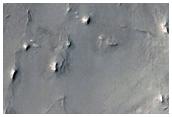 Terrain Inside Northwest Arabia Terra Crater