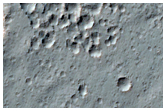 Ejecta of 6-Kilometer Diameter Rayed Crater