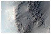 Terrain in Tyrrhena Terra