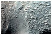 Crater Wall in Noachis Terra