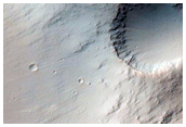 Tyrrhena Terra Crater