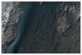 Light-Toned Rocks Exposed along Coprates Chasma