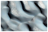 North Polar Dune Seasonal Defrost Monitor Site