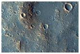 Sample Terrain inside Mclaughlin Crater