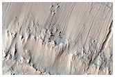 Gullied Crater Walls in Terra Cimmeria