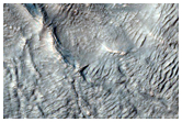 Landforms in Centauri Montes Region