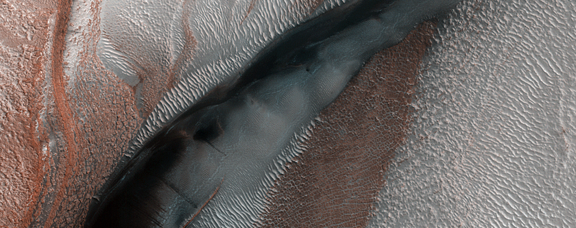 Icy Northern Dunes