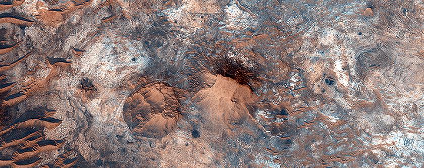 Clay Minerals Near Mawrth Vallis