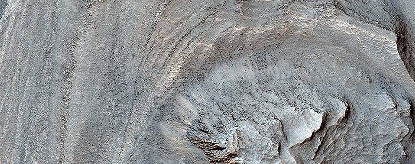 Fault in Ius Chasma