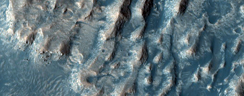 Layered Outcrops