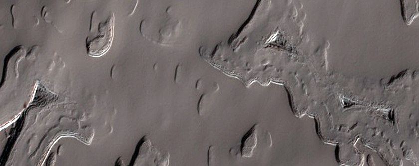 Dark Lanes in South Polar Residual Cap