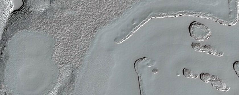South Pole Residual Cap Interannual Change Monitoring