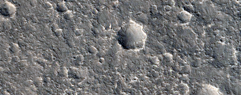 Possible Future Landing Site for Insight
