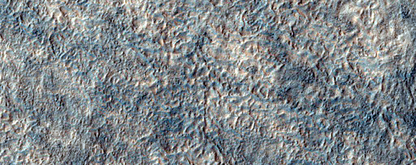 Textured Surface Material in Noachis Terra